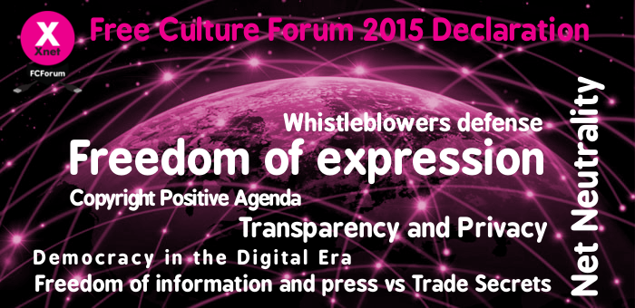 Free Culture Forum 2015 Outcomes