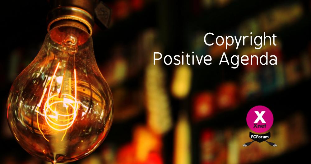 Agenda Positiva para el Copyright